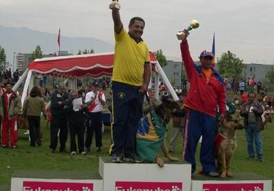 Podio Campeones Adiestramiento - Ganadores Categoria CG2